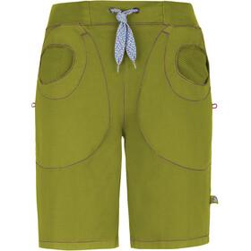 E9 Mix Short Naiset Lyhyet housut , vihreä
